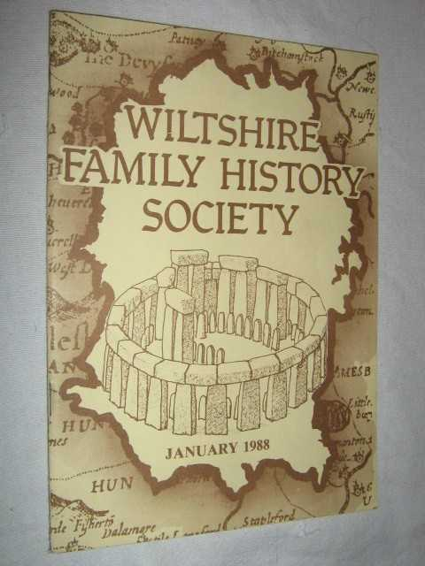 Image for Wiltshire Family History Society January 1988