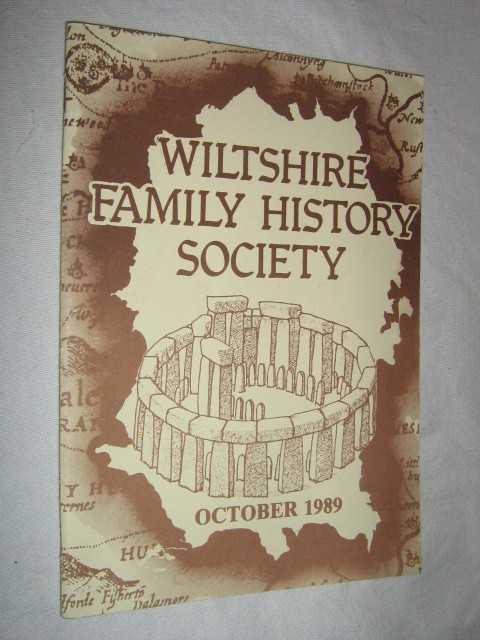 Image for Wiltshire Family History Society October 1989