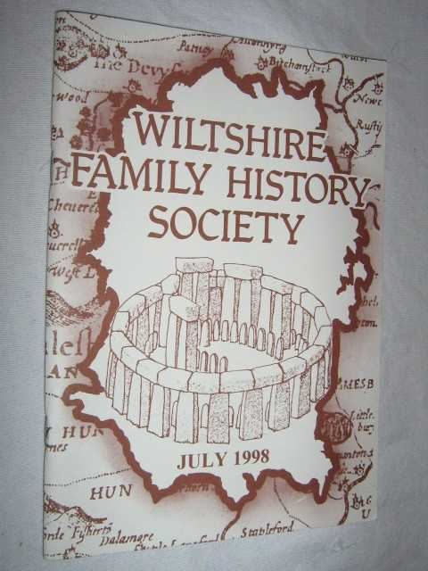 Image for Wiltshire Family History Society July 1998