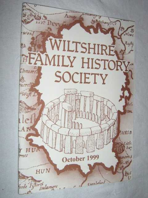 Image for Wiltshire Family History Society October 1999