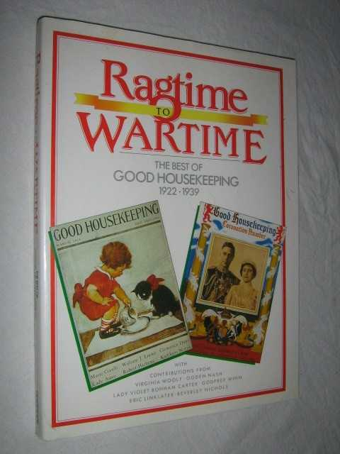 Image for RAGTIME TO WARTIME : Best of Good Housekeeping 1922-39