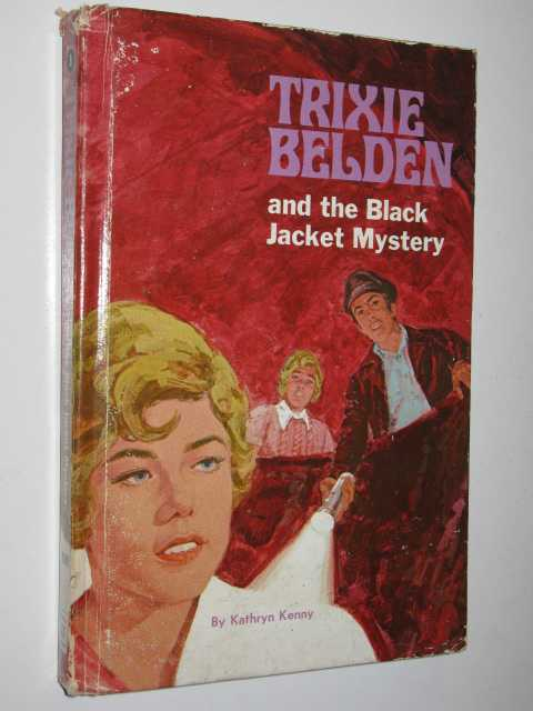 Image for The Black Jacket Mystery - Trixie Belden Series #8