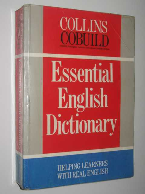 Image for Collins Cobuild Essentials of English Dictionary