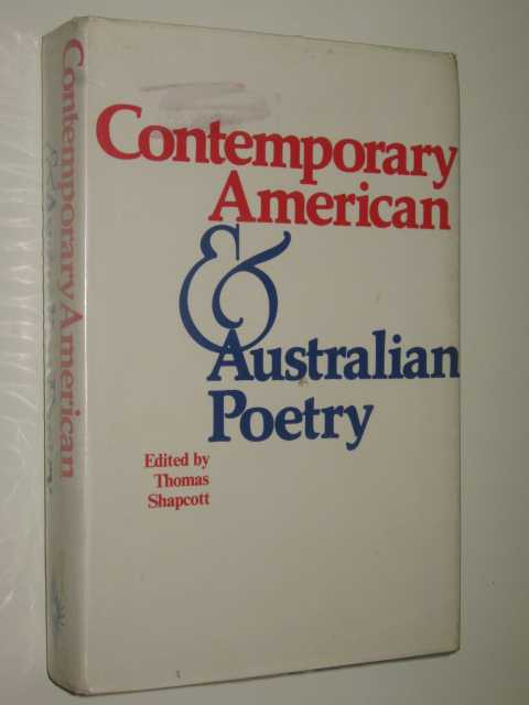Image for Contemporary American & Australian Poetry
