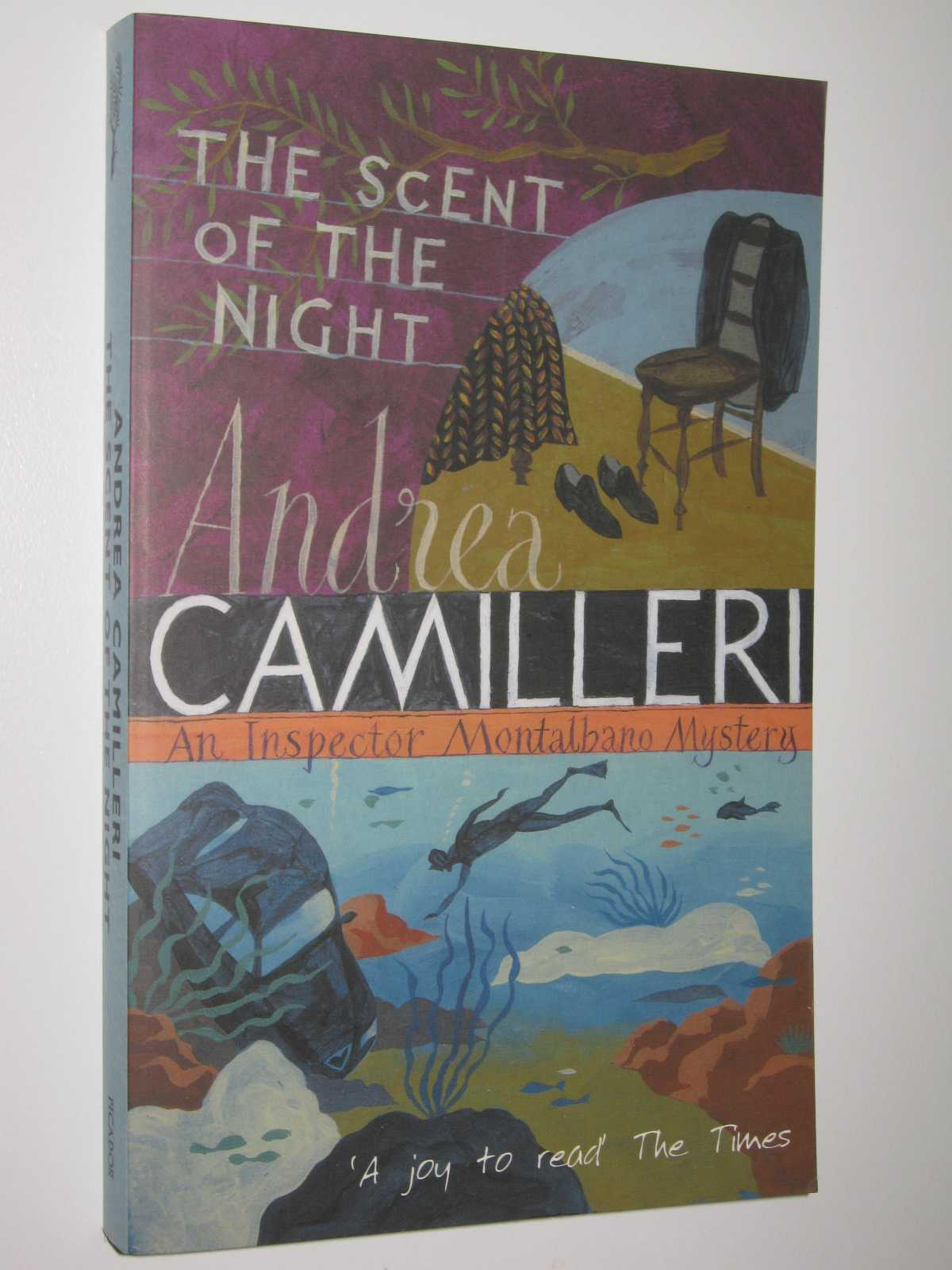Image for The Scent of the Night - Montalbano Series #6