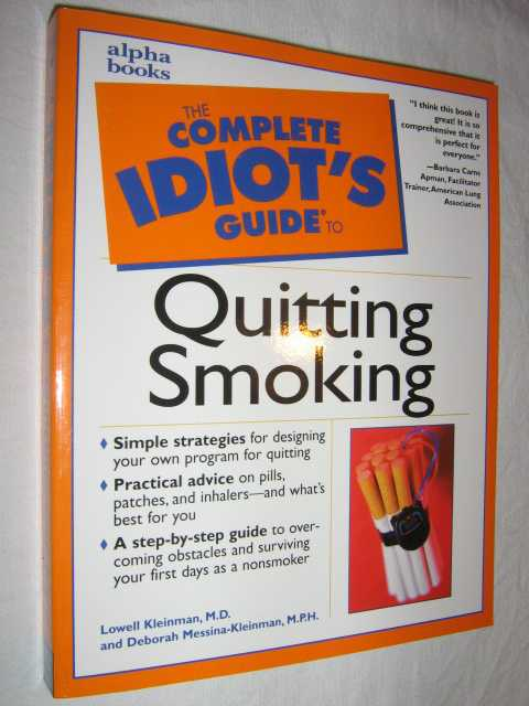 Image for The Complete Idiot's Guide to Quitting Smoking