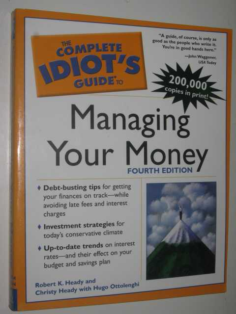 Image for The Complete Idiot's Guide To Managing Your Money