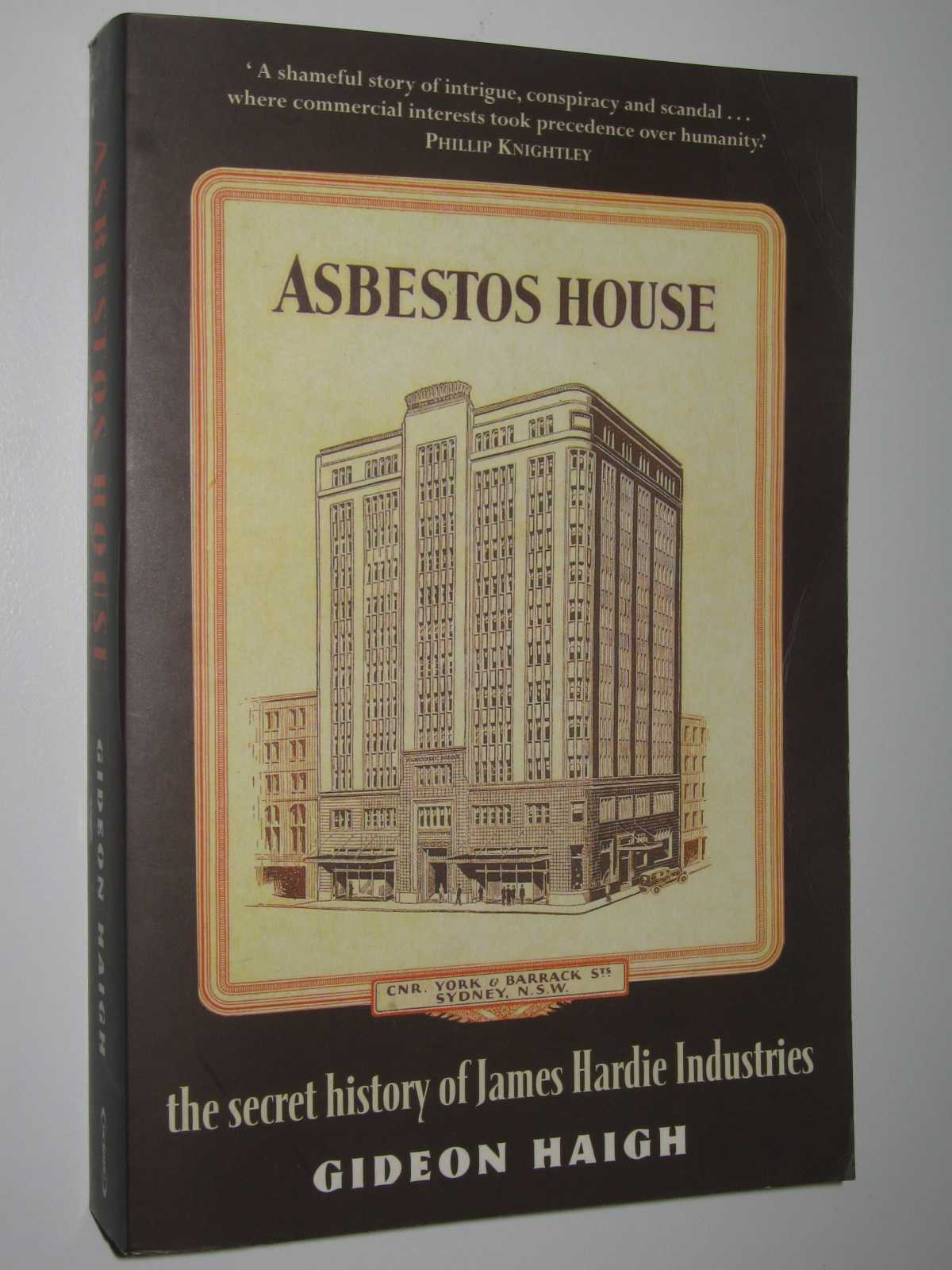 Image for Asbestos House : The Secret History of James Hardie Industries