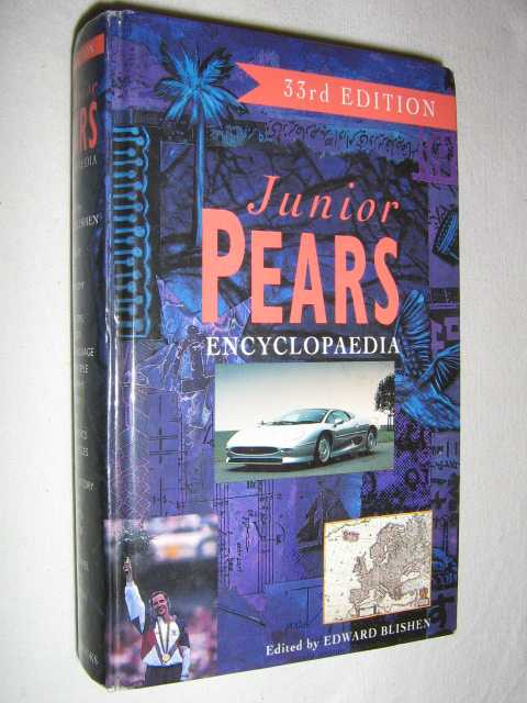 Image for Junior Pears Encyclopedia: 33rd edition