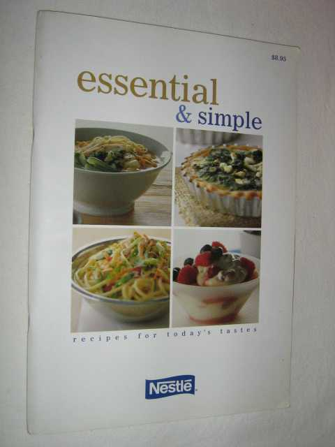 Image for Essential and Simple : Recipes for Today's Tastes