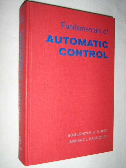 Image for Fundamentals of Automatic Control