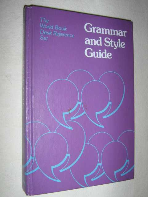 Image for Grammar and Style Guide