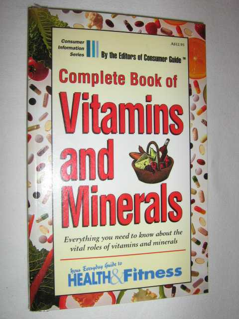 Image for Complete Book of Vitamins and Minerals