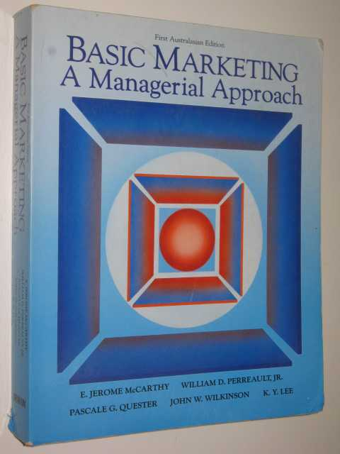 Image for Basic Marketing : A Managerial Approach