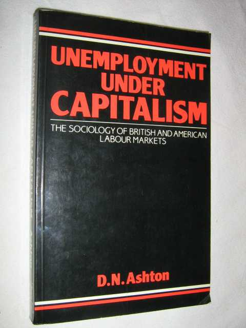 Image for Unemployment Under Capitalism : The Sociology of British and American Labour Markets