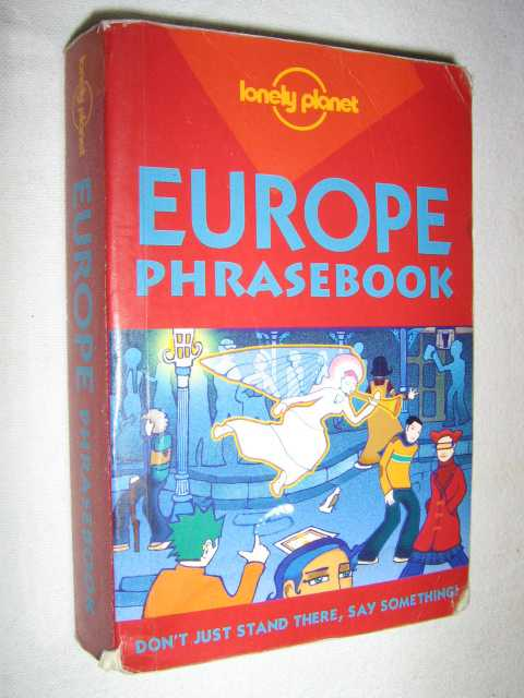 Image for Europe Phrasebook - Lonely Planet Travel Guide Series