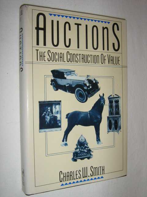 Image for Auctions : The Social Construction of Value