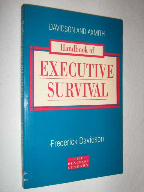 Image for Handbook of Executive Survival