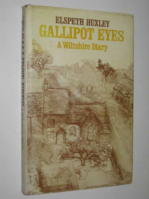 Image for Gallipot Eyes : A Wiltshire Diary