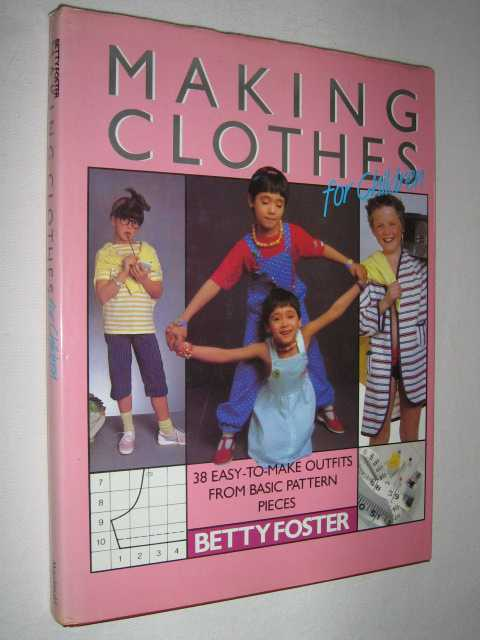Image for Making Clothes for Children