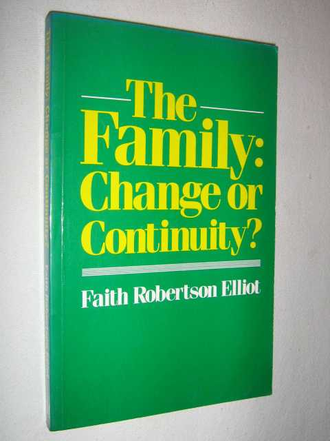 Image for The Family : Change or Continuity