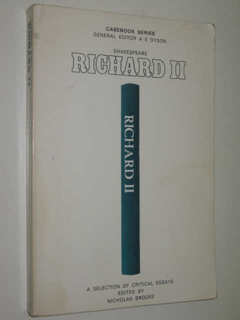 Image for Richard II : A Casebook