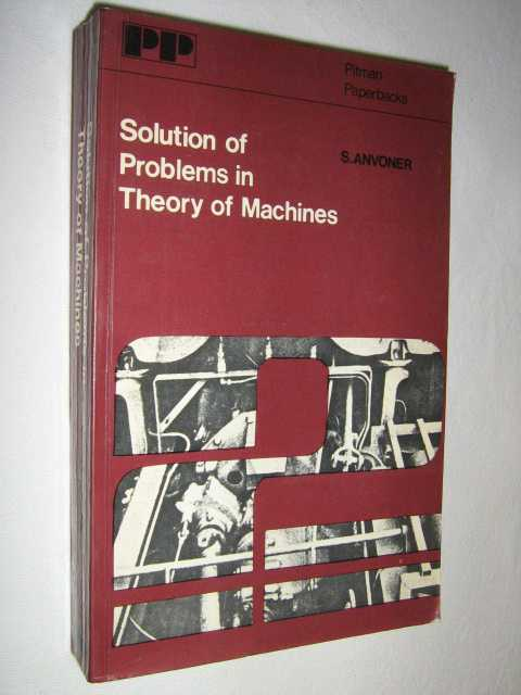Image for Solution of Problems in Theory of Machines