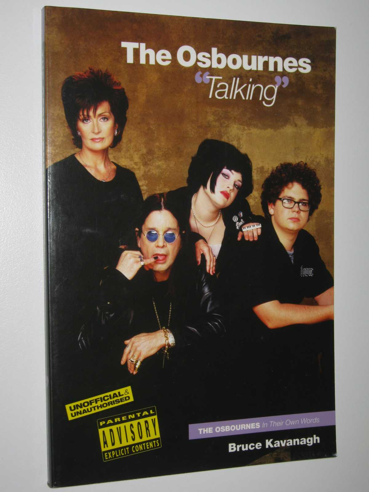 "Image for The Osbournes ""Talking"" : The Osbournes in Their Own Words"