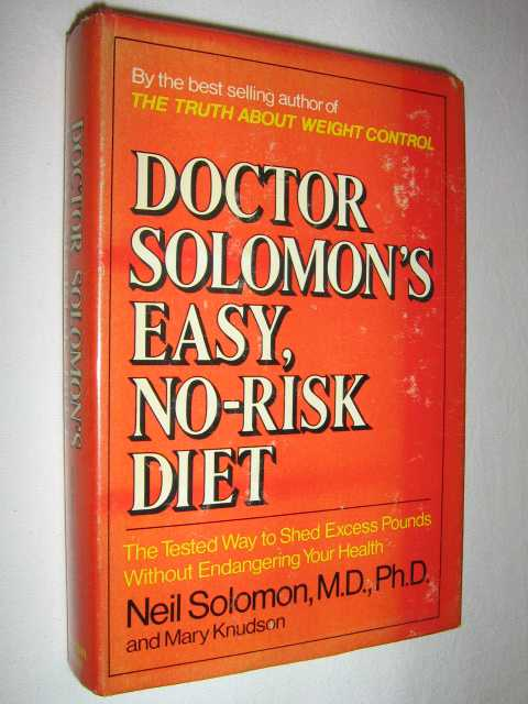 Image for Doctor Solomon's Easy, No-risk Diet