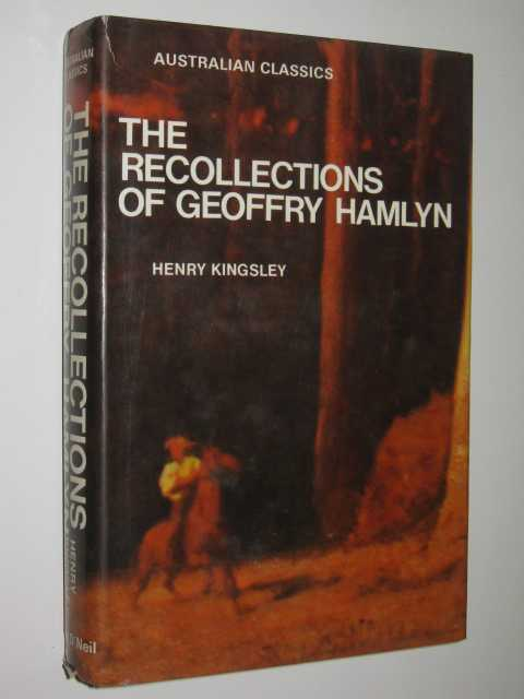 Image for The Recollections of Geoffry Hamlyn