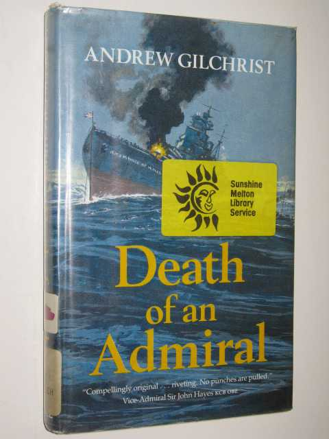 Image for Death of an Admiral