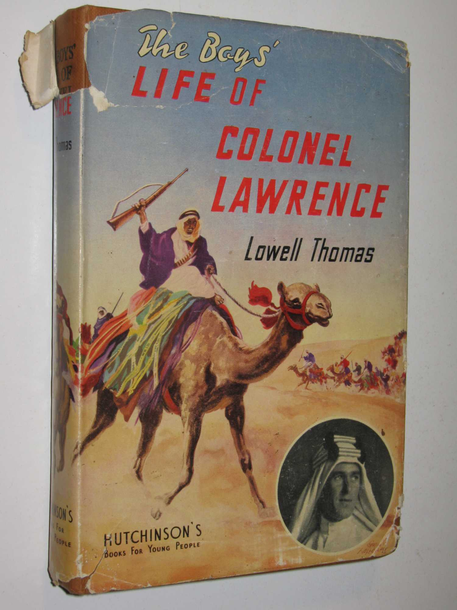 Image for The Boys' Life of Colonel Lawrence
