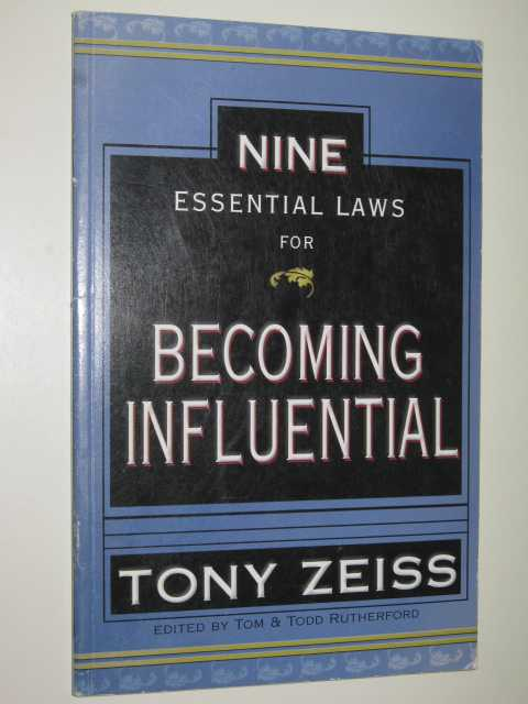 Image for Nine Essential Laws for Becoming Influential