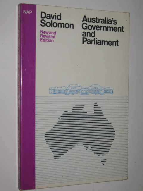 Image for Australia's Government And Parliament