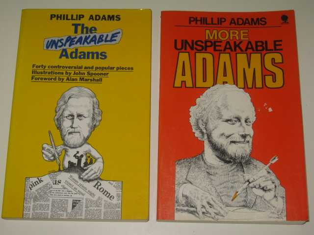 Image for The Unspeakable Adams / More Unspeakable Adams