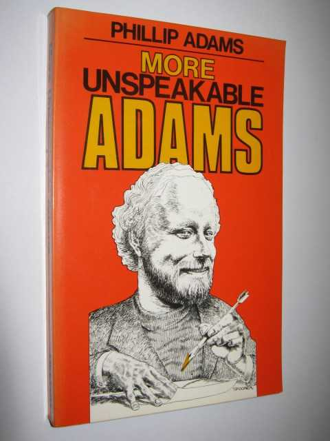 Image for More Unspeakable Adams
