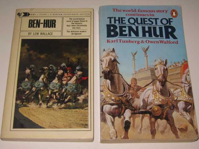 Image for Ben-Hur / The Quest of Ben Hur