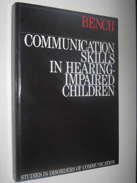 Image for Communication Skills in Hearing-Impaired Children