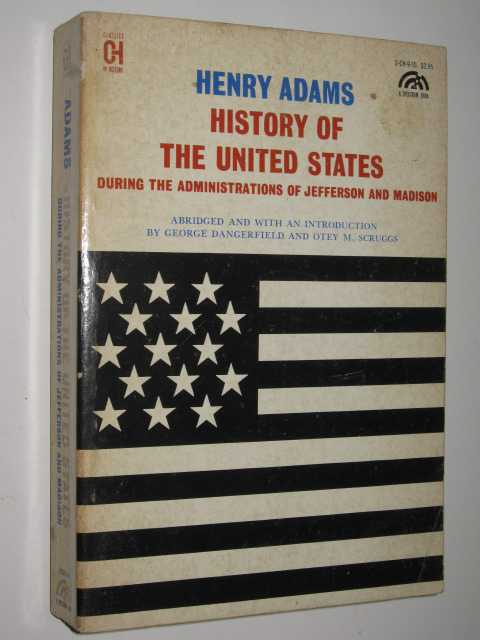 Image for History of the United States During the Administration of Jefferson and Madison