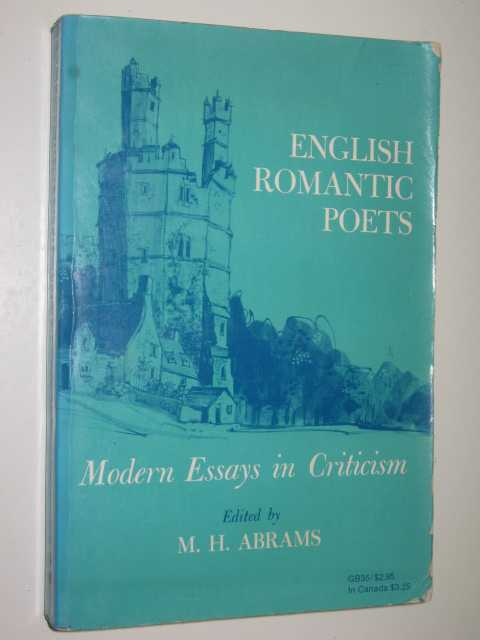Image for English Romantic Poets : Modern Essays in Criticism