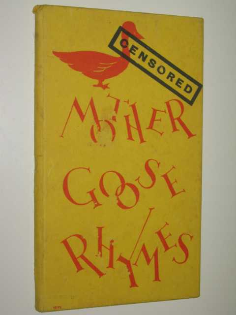 Image for Censored Mother Goose Rhymes