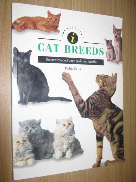 Image for Identifying Cat Breeds : The New Compact Study Guide and Identifier