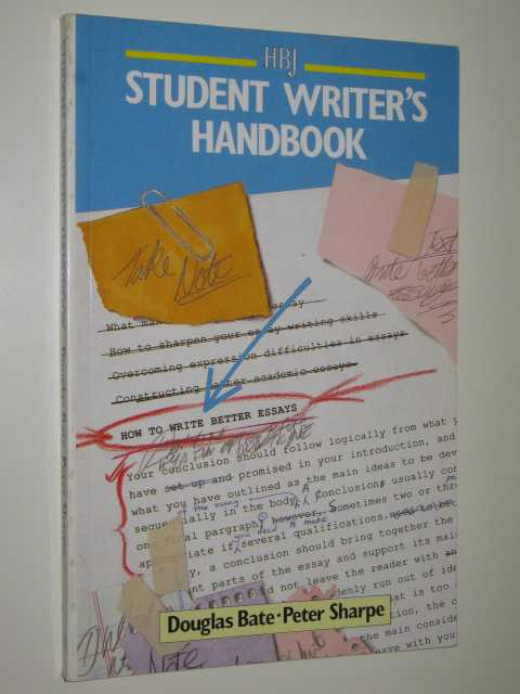 Image for Student Writer's Handbook