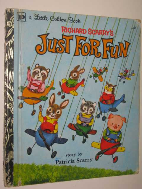Image for Richard Scarry's Just for Fun - Little Golden Book Series