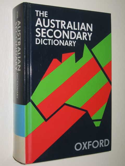 Image for The Australian Secondary Dictionary