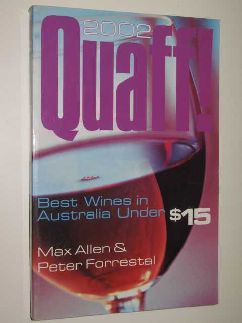 Image for Quaff! 2002 : Wines under $15