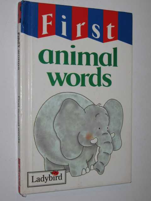 Image for First Animal Words