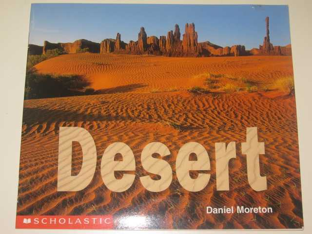 Image for Desert - Science Emergent Readers Series
