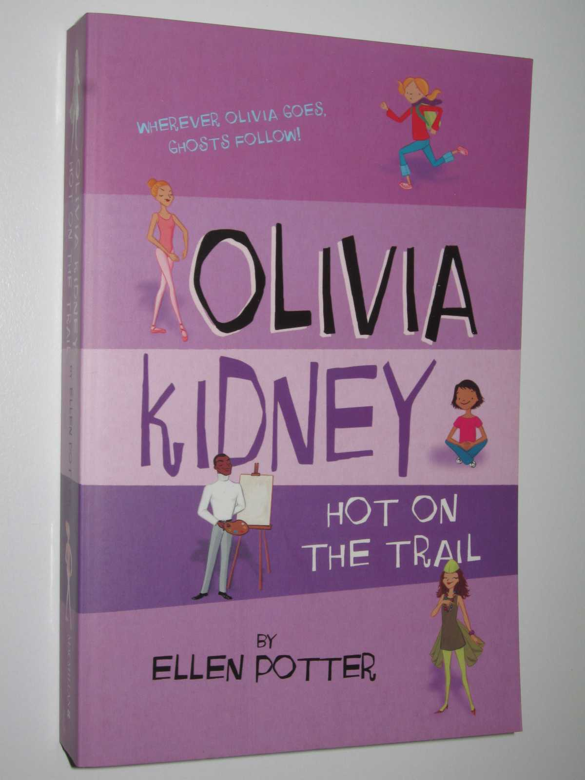 Image for Olivia Kidney Hot on the Trail
