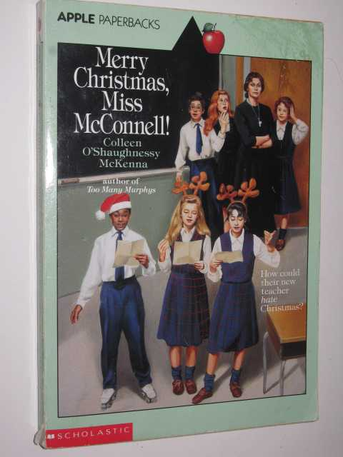 Image for Merry Christmas, Miss McConnell